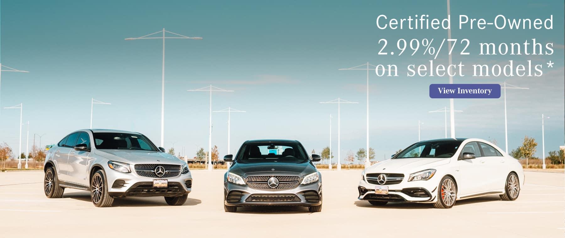 CPO Special Financing Rates | Mercedes-Benz of Sugar Land