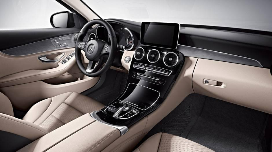 mercedes-benz-sedan-interior-beige-black-aluminum-gloss-black-trim