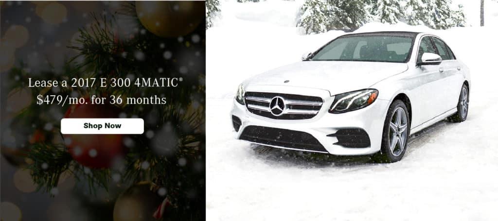 Mercedes-Benz of Wappingers Falls_December Specials_2017 E 300