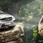 Mercedes-Benz GLE Coupe Stars in Jurassic World