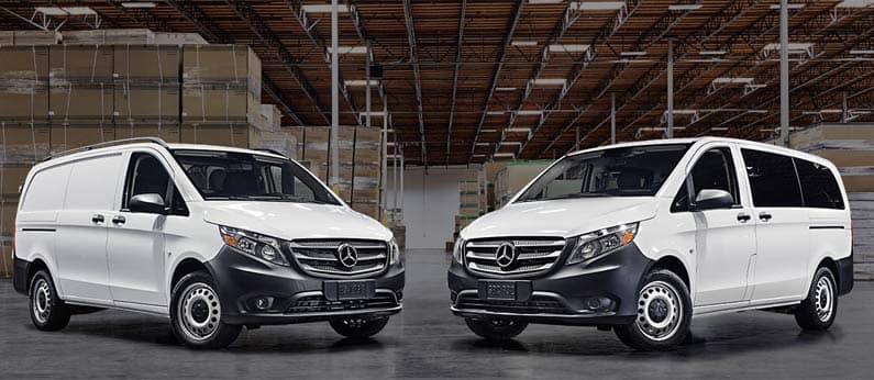 Difference Between Sprinter Metris Vans Mercedes Benz Of