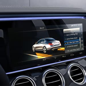 Mercedes-Benz E-Class Interior Safety