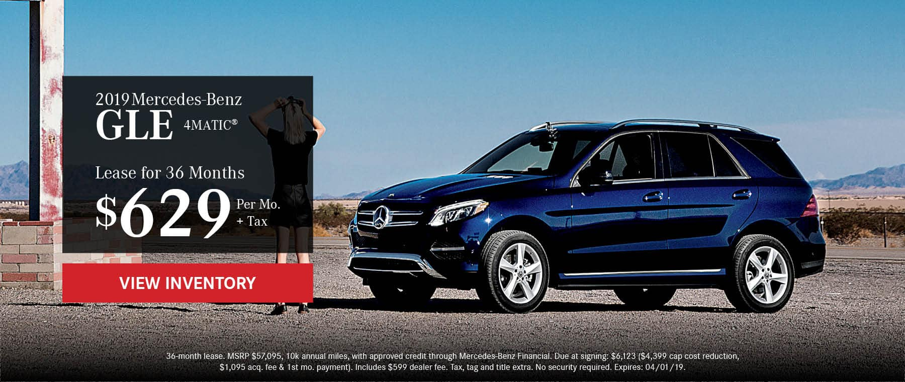 66459-WB-MBOW-2019 MERCEDES-BENZ GLE