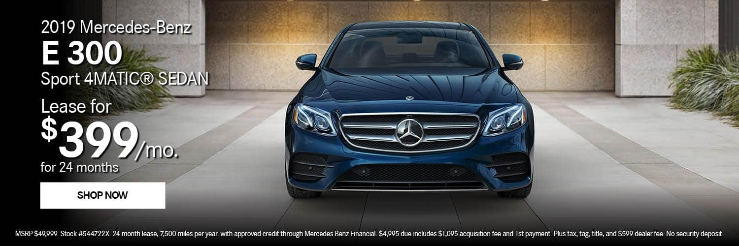 2019 Mercedes-Benz E 300 Offer