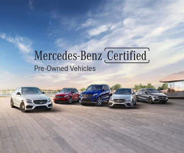 Mercedes-Benz Certified Pre-Owned Models