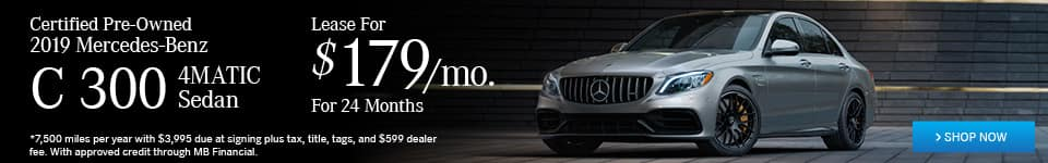 Certified Pre-Owned Mercedes-Benz C 300 4MATIC