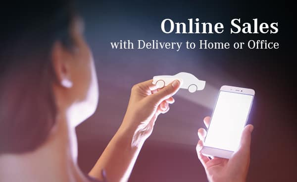 Online Sales with Delivery to Home or Office
