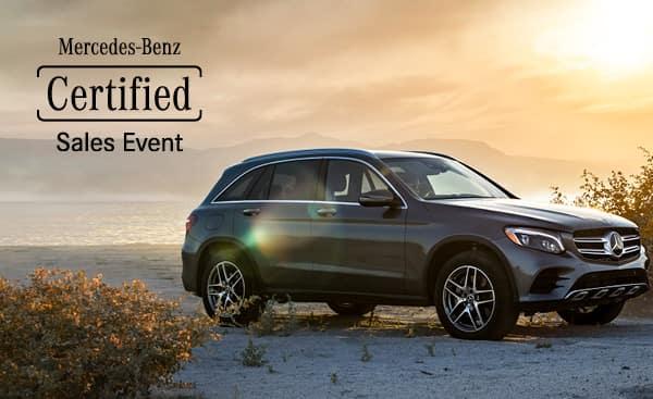 Mercedes-Benz CPO Sales Event