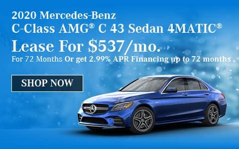 2020 Mercedes-Benz C-Class AMG® C 43 Sedan 4MATIC®