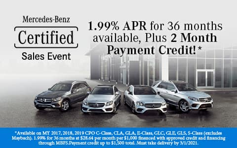 Certified Sales Event