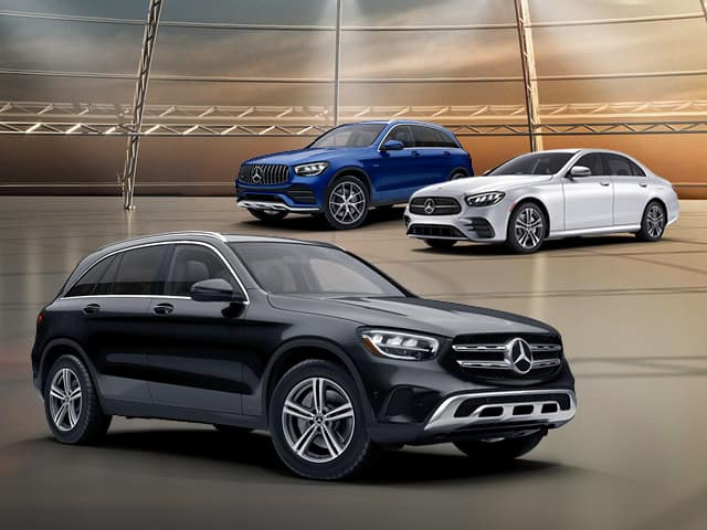 2021 Mercedes-Benz E 350, GLC 300 SUV and GLC 43 SUV