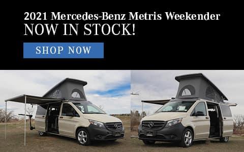 2021 Mercedes-Benz Metris Weekender