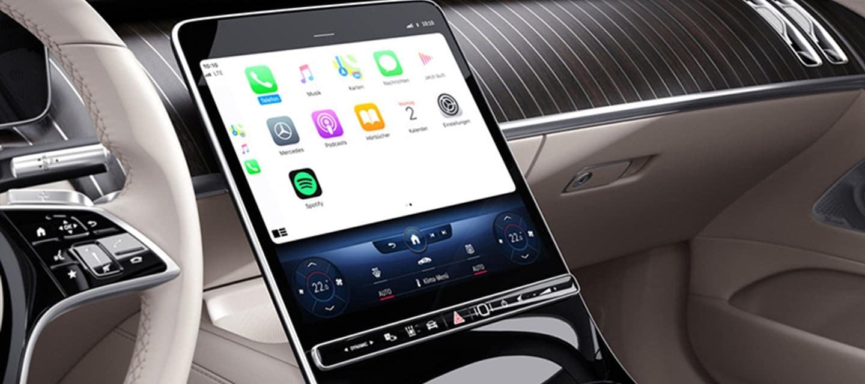 S-Class Touchscreen