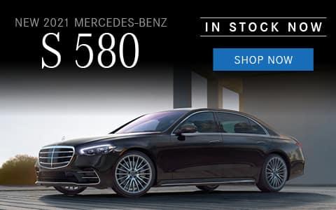 New 2021 Mercedes-Benz S 580