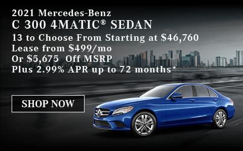 2021 Mercedes-Benz C 300 4MATIC