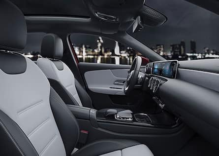 Cabin of the 2019 Mercedes-Benz A-Class
