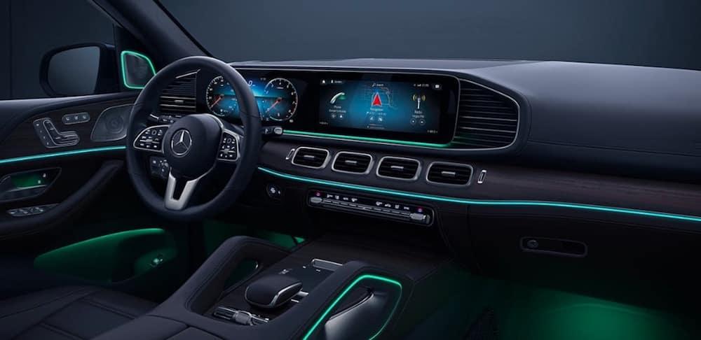 2020 Mercedes-Benz GLE SUV cabin