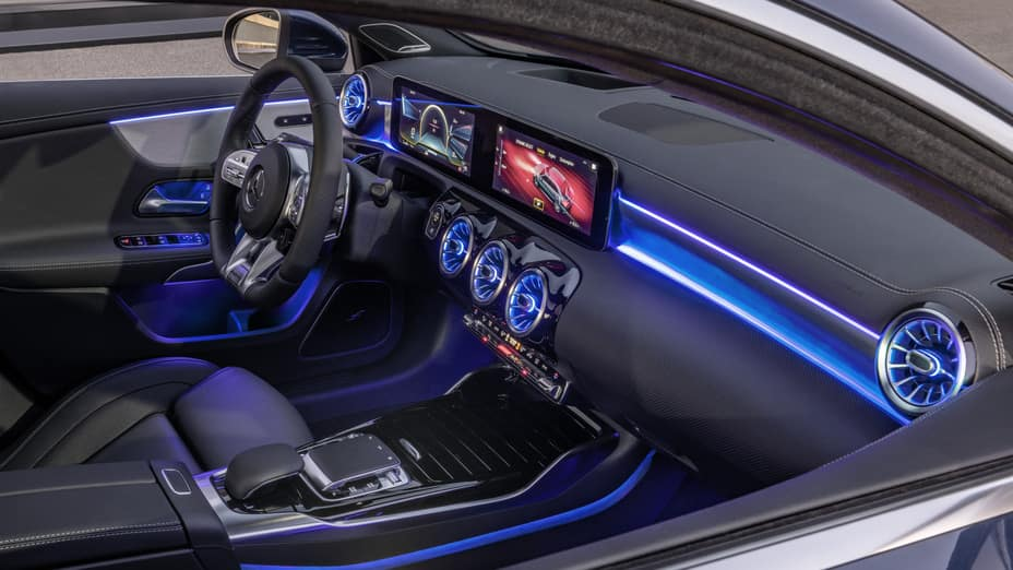 Inside Look At 2020 Mercedes-AMG 35 Sedan