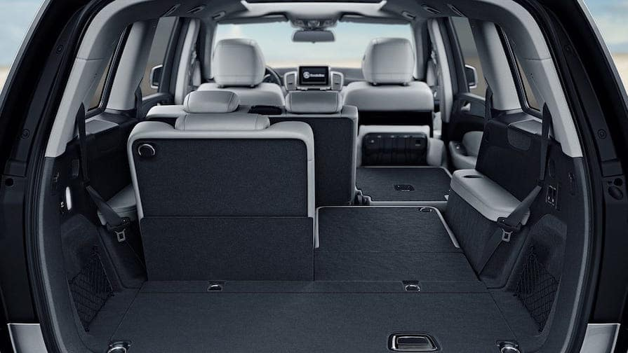 Mercedes-Benz GLS SUV cargo space