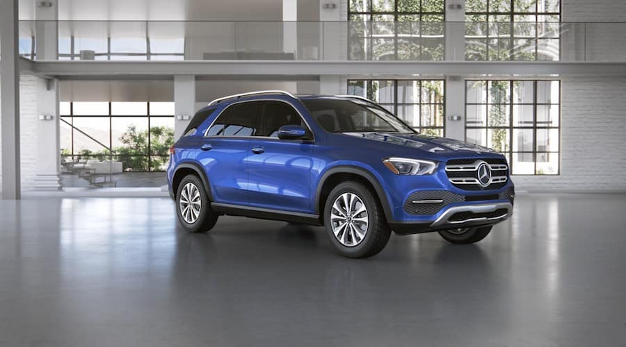 2020 Mercedes-Benz GLE in Brilliant Blue metallic