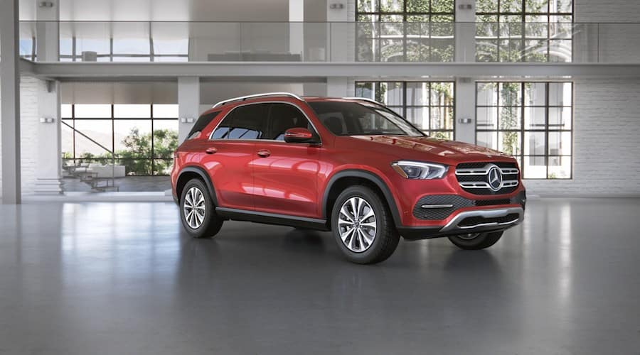 2020 Mercedes-Benz GLE in designo Cardinal Red metallic