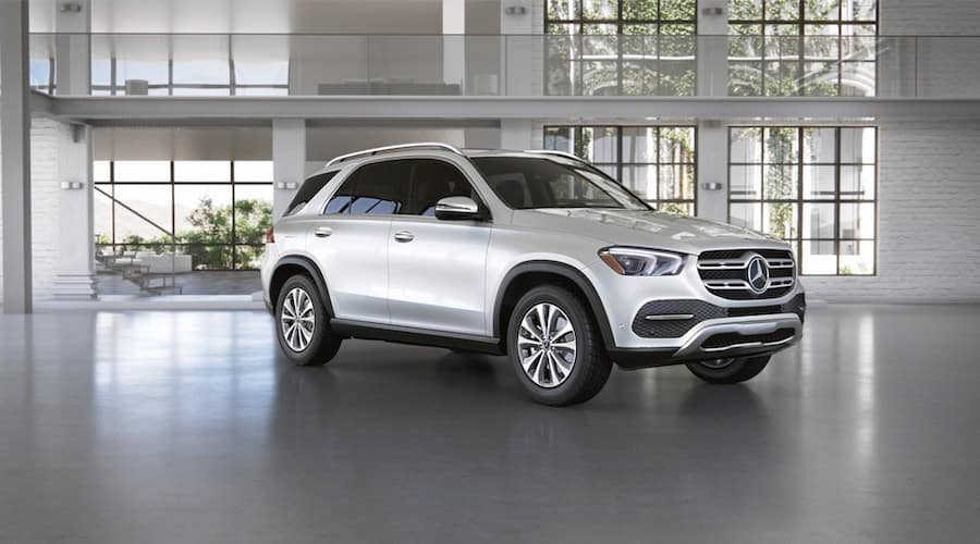 2020 Mercedes-Benz GLE in designo Diamond White metallic