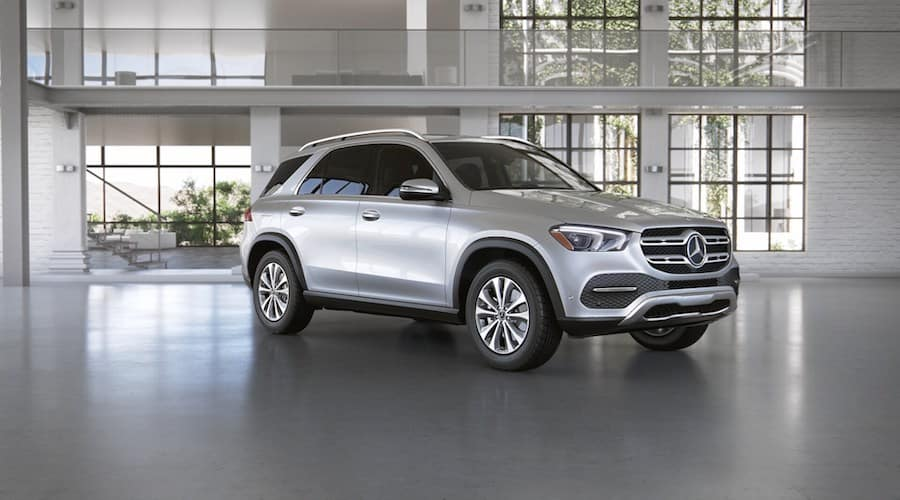 2020 Mercedes-Benz GLE in Iridium Silver metallic