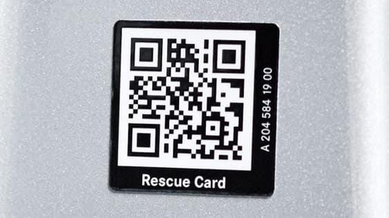 Metris Safety Rescue Card