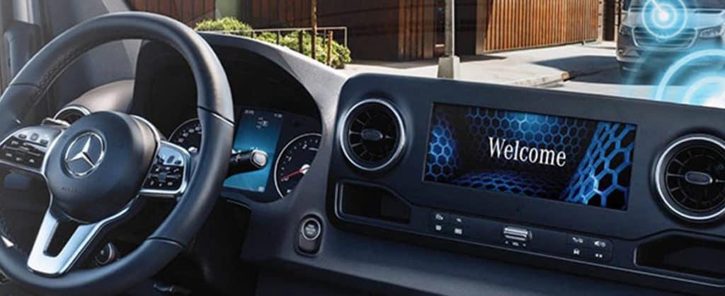 sprinter dashboard display