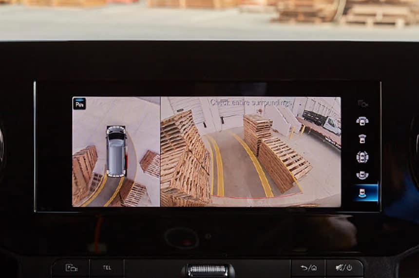 sprinter back-up camera display