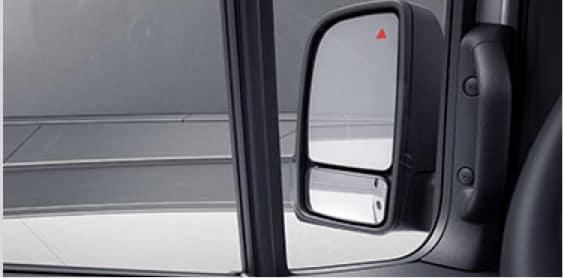 Sprinter driver side mirror