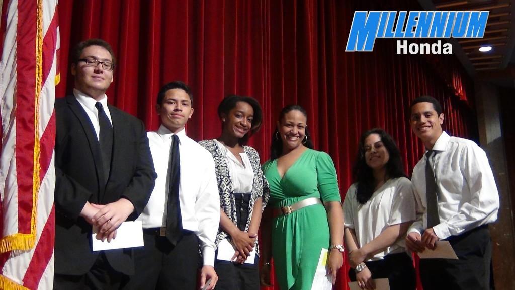Scholarship Winners 2014