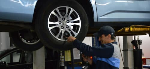 Tire Maintenance at Millennium Honda in Hempstead