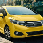 Yellow 2019 Honda Fit