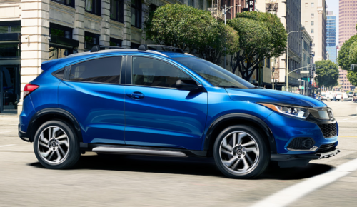 Blue 2019 Honda HR-V in Hempstead, NY