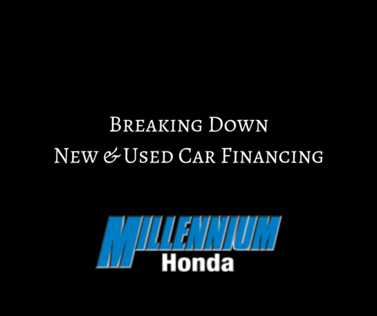 Breaking Down New and Used Car Financing at Millennium Honda