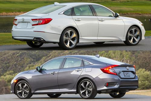 Millennium Honda Accord and Honda Civic