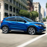 Blue 2019 Honda HR-V