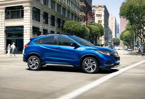 Blue 2019 Honda HR-V