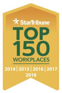 Miller Auto Plaza Top 150 Workplaces Logo 2018
