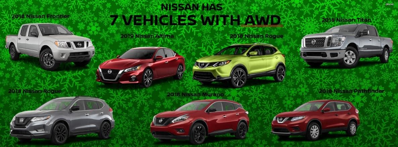 Nissan Model Lineup
