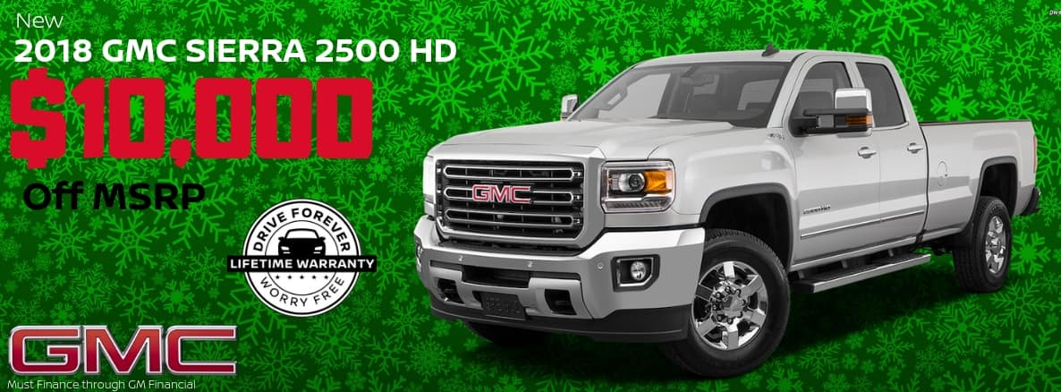 GMC 2500 HD Miller Auto and Marine Holiday Special