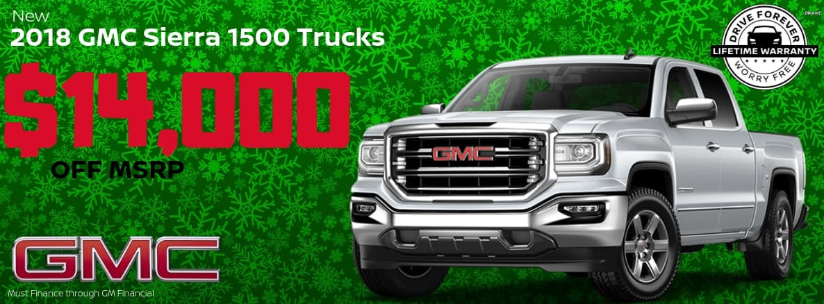 GMC Sierra Miller Auto and Marine Holiday Special
