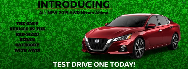 AWD Altima 2019