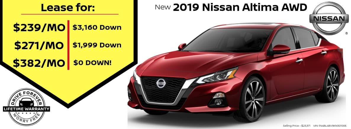 Nissan Altima Miller Auto and Marine Holiday Special