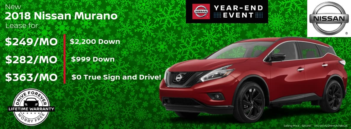 Nissan Murano Miller Auto and Marine Holiday Special