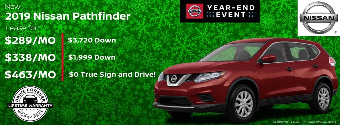 Nissan Pathfinder Miller Auto and Marine Holiday Special