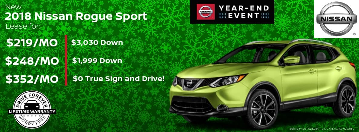 Nissan Rogue Miller Auto and Marine Holiday Special
