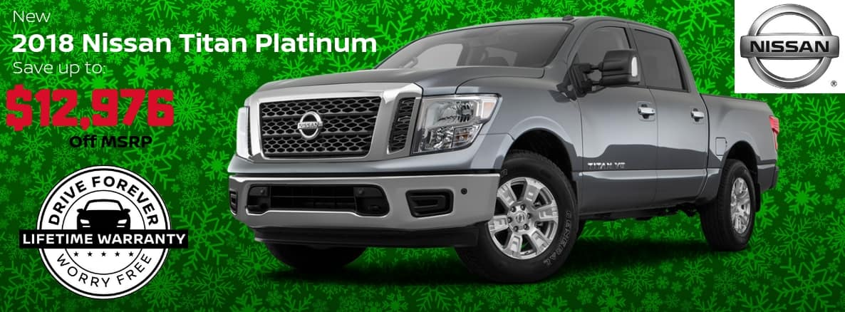 Nissan Titan Miller Auto and Marine Holiday Special