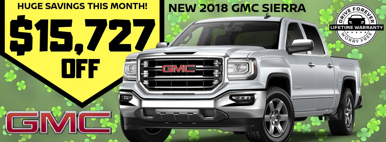 2018 GMC Sierra Special